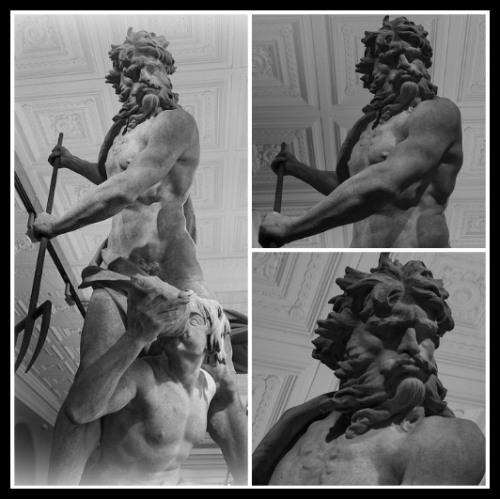 """Neptune and Triton"" by Gian Lorenzo Bernini (1620-1622). Victoria and Albert Museum of London."