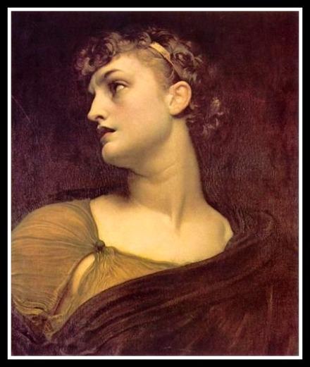 """""""Antigone"""" by Frederic Lord Leighton (1882)"""