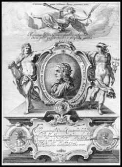 """Metamorphoses"" by Ovid. Illustration by George Sandys. 1632."