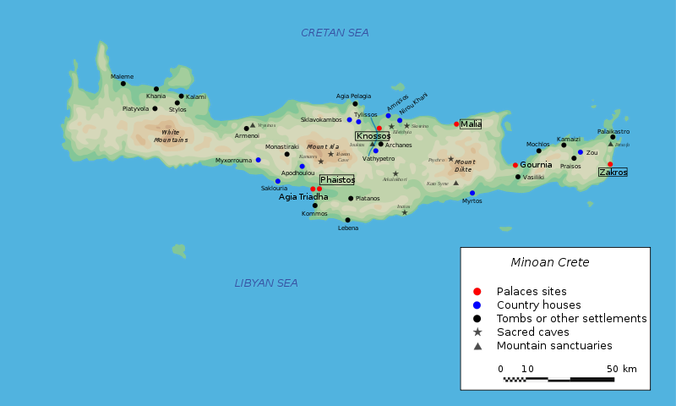 Map courtesy of: Go Greece Your Way http://gogreeceyourway.gr/traveling-in-greece/touring-in-crete/ierapetra-and-ancient-gournia/