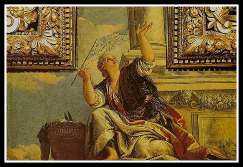 """""""Arachne or Dialectics"""" by Paolo Veronese. 1520."""