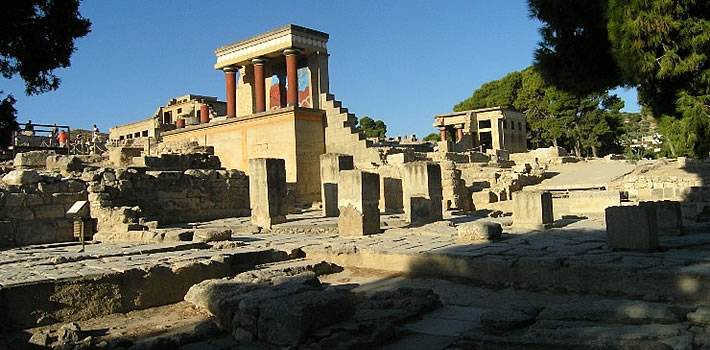 knossos-archaeological-site